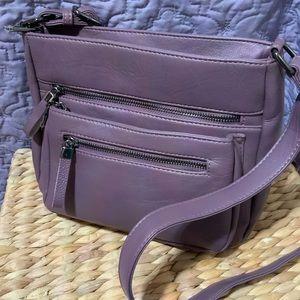 Faux Leather Crossbody or Shoulder Bag